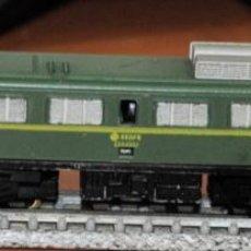 Trains Échelle: LOCOMOTORA ELÉCTRICA MITSUBISHI VERDE RENFE DE IBERTREN, REF. 027. ESCALA 3N.. Lote 287165473