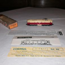 Treni in Scala: IBERTREN 3N 018 LOCOMOTORA ELÉCTRICA ALSTHOM 213 037-6 RENFE OVP. Lote 287214203