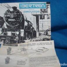 Treni in Scala: INSTRUCCIONES Y CIRCUITOS IBERTREN - 1978, 4ª EDICIÓN. Lote 287784833