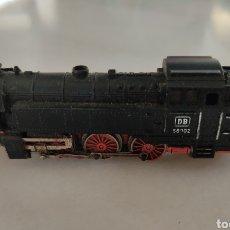 Trenes Escala: LOCOMOTORA DE VAPOR S 66 IBERTREN DB NEGRA. Lote 287851813
