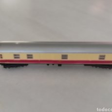Trenes Escala: VAGON DE PASAGEROS IBERTREN BEIGE GRANATE ESCALA N. Lote 287854293