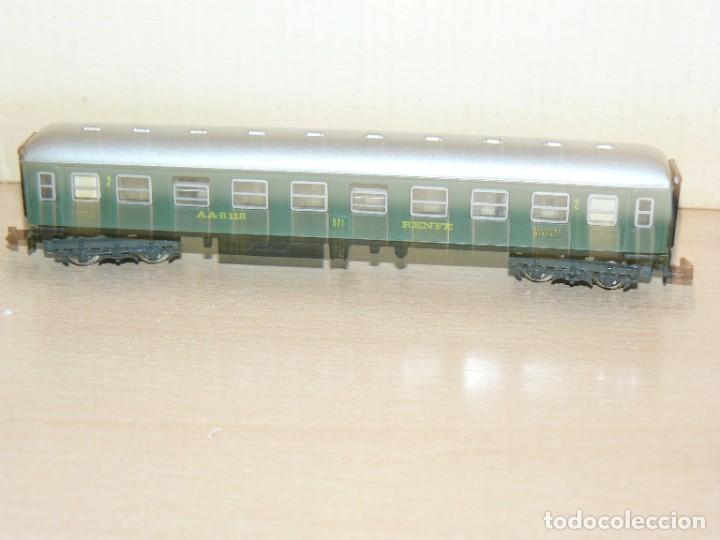 Trenes Escala: IBERTREN Caja con SET 112 3N Locomotora Diesel ALCO RENFE + 2 Vagones + 1 Furgón +8 VIAS EXTRAS - Foto 10 - 288096928