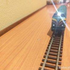 Trenes Escala: LOCOMOTORA 340 IBERTREN 2N CON LUCES BLANCAS Y ROJAS. Lote 288294113