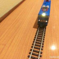 Trenes Escala: LOCOMOTORA 269 MAZINGUER IBERTREN. CON MEJOR MOTOR Y LUCES BLANCASY ROJAS.. Lote 289646248