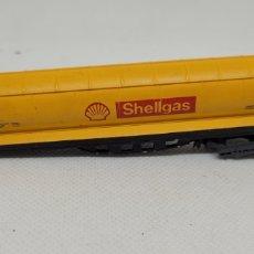 Trenes Escala: IBERTREN VAGON SHELLGAS. ESCALA N. MADE IN SPAIN.. Lote 290896653