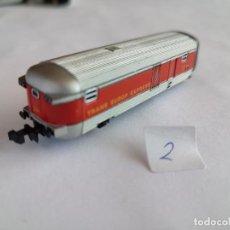 Treni in Scala: IBERTREN N, VAGÓN FURGÓN COMPOSICIÓN TALGO RENFE. MUY BUEN ESTADO. Lote 293487418