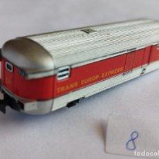 Treni in Scala: IBERTREN N, VAGÓN FURGÓN COMPOSICIÓN TALGO RENFE. MUY BUEN ESTADO. Lote 293487478