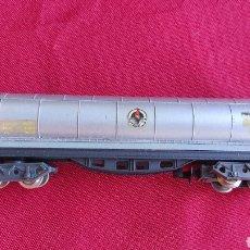Trenes Escala: IBERTREN VAGÓN CISTERNA 362 BUTANO PLATA. ESCALA N. Lote 293763098