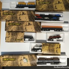 Trenes Escala: LOTE DE VAGONES CON CAJA IBERTREN TAL CUAL SE VE EN LAS FOTOS, DESCONOZCO SI ALGUNO LE FALTA ALGO. Lote 294563068