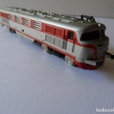 Treni in Scala: LOCOMOTORA TALGO IBERTREN 342 VIRGEN DEL CARMEN CON LUZ ESCALA 2N. Lote 294566753