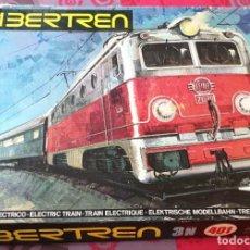 Trenes Escala: FANTASTICA CAJA IBERTREN 3N 401 SE DESCONOCE SI FUNCIONA TAL CUAL SE VE EN LAS FOTOS. Lote 295282173