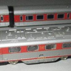 Trenes Escala: LOCOMOTORA Y VAGONES IBERTREN 3N TALGO, VIRGEN DEL CARMEN. Lote 295482818