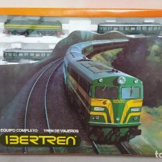 Trenes Escala: IBERTREN 2N REF 0850 EQUIPO COMPLETO TREN DE VIAJEROS. MUY BUEN ESTADO.. Lote 296853003