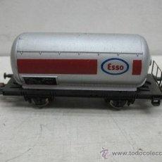 Trenes Escala: LIMA - VAGÓN CISTERNA ESSO - ESCALA H0. Lote 35682100