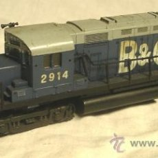 Trenes Escala: LOCOMOTORA LIMA B&O 2914. REF 9332 DC CORRIENTE CONTINUA, ESCALA H0. MED. 23,50 CM. Lote 36026623