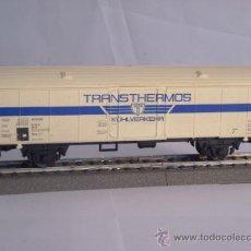 Trenes Escala: LIMA ESCALA H0 1/87 VAGON MERCANCIAS TRANSTHERMOS DE LA DB PARA ALTERNA AC. Lote 172070189