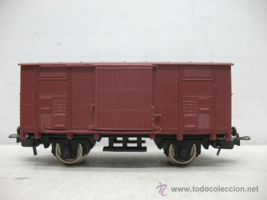 LIMA - VAGÓN DE MERCANCÍAS CERRADO - ESCALA H0 (Juguetes - Trenes a Escala H0 - Lima H0)