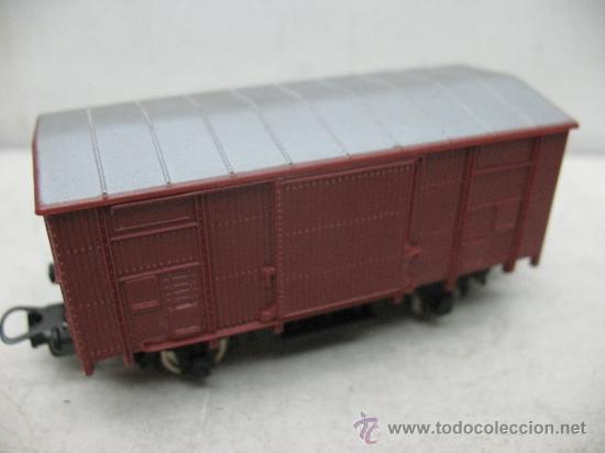 Trenes Escala: Lima - Vagón de mercancías cerrado - Escala H0 - Foto 3 - 38935889