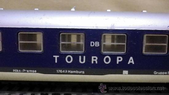 TREN ESCALA H0, VAGON DE PASAJEROS, TOUROPA, LIMA, ITALIA, DB (Juguetes - Trenes a Escala H0 - Lima H0)