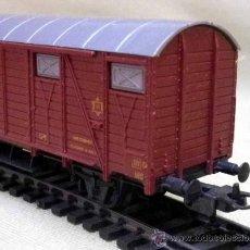 Trenes Escala: TREN ESCALA H0, VAGON CARGA, LIMA, ITALIA. Lote 39656134