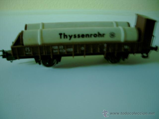 Trenes Escala: VAGON TRANSPORTE DE TUBOS ESCALA HO LIMA - Foto 2 - 39374757