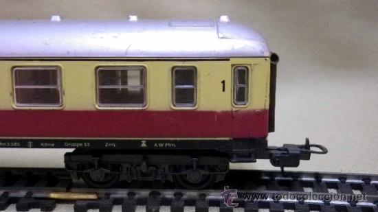 Trenes Escala: TREN ESCALA H0, VAGON DE PASAJEROS, 1ª CLASE, LIMA, ITALIA, DB - Foto 3 - 39632548