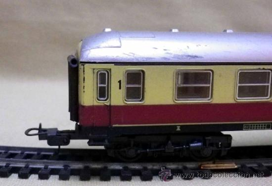 Trenes Escala: TREN ESCALA H0, VAGON DE PASAJEROS, 1ª CLASE, LIMA, ITALIA, DB - Foto 8 - 39632548