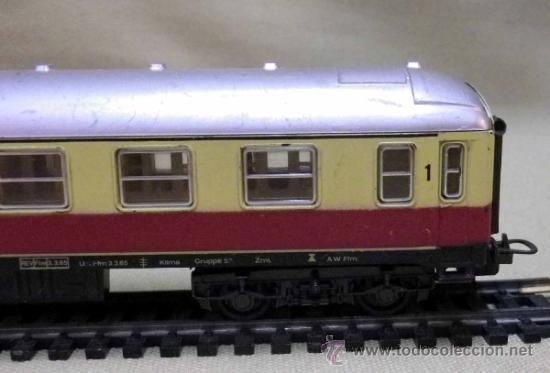 Trenes Escala: TREN ESCALA H0, VAGON DE PASAJEROS, 1ª CLASE, LIMA, ITALIA, DB - Foto 9 - 39632548