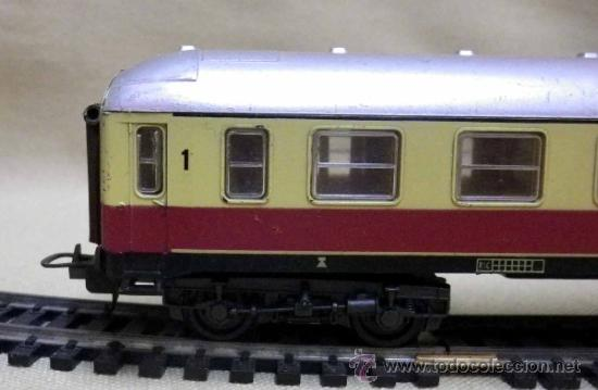 Trenes Escala: TREN ESCALA H0, VAGON DE PASAJEROS, 1ª CLASE, LIMA, ITALIA, DB - Foto 3 - 39632588