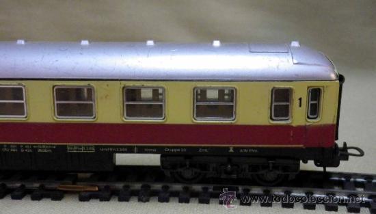 Trenes Escala: TREN ESCALA H0, VAGON DE PASAJEROS, 1ª CLASE, LIMA, ITALIA, DB - Foto 7 - 39632588