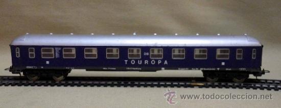 Trenes Escala: TREN ESCALA H0, VAGON DE PASAJEROS, TOUROPA, LIMA, ITALIA, DB - Foto 2 - 39632718