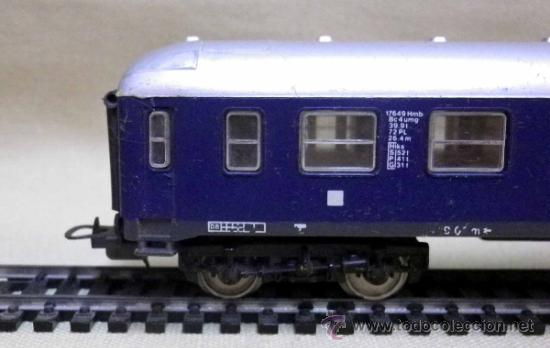 Trenes Escala: TREN ESCALA H0, VAGON DE PASAJEROS, TOUROPA, LIMA, ITALIA, DB - Foto 3 - 39632718