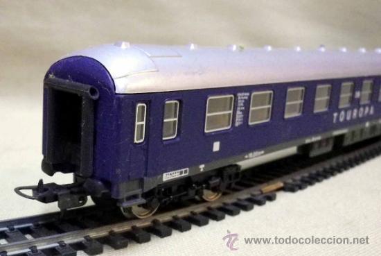 Trenes Escala: TREN ESCALA H0, VAGON DE PASAJEROS, TOUROPA, LIMA, ITALIA, DB - Foto 6 - 39632718