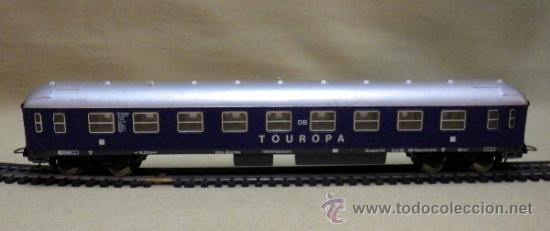Trenes Escala: TREN ESCALA H0, VAGON DE PASAJEROS, TOUROPA, LIMA, ITALIA, DB - Foto 7 - 39632718