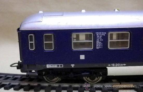 Trenes Escala: TREN ESCALA H0, VAGON DE PASAJEROS, TOUROPA, LIMA, ITALIA, DB - Foto 8 - 39632718