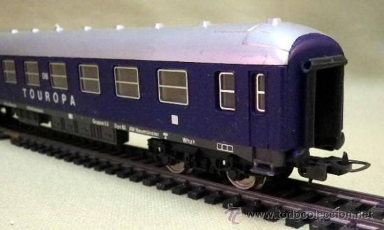 Trenes Escala: TREN ESCALA H0, VAGON DE PASAJEROS, TOUROPA, LIMA, ITALIA, DB - Foto 11 - 39632718