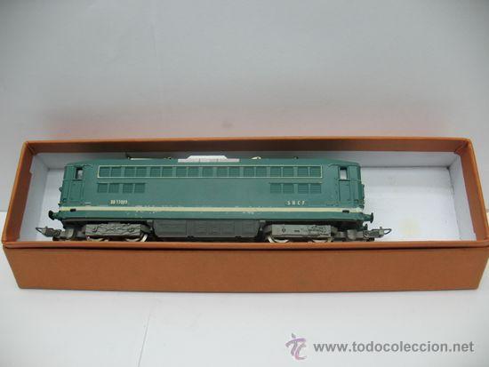 Trenes Escala: LIMA -LOCOMOTORA ELECTRICA BB 17009 - DE LA SNCF -Dc-Ho - Foto 2 - 39643983