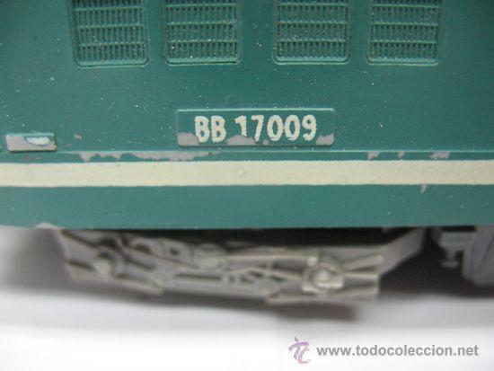 Trenes Escala: LIMA -LOCOMOTORA ELECTRICA BB 17009 - DE LA SNCF -Dc-Ho - Foto 7 - 39643983