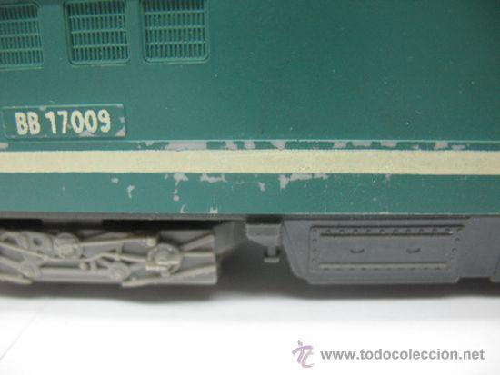 Trenes Escala: LIMA -LOCOMOTORA ELECTRICA BB 17009 - DE LA SNCF -Dc-Ho - Foto 8 - 39643983