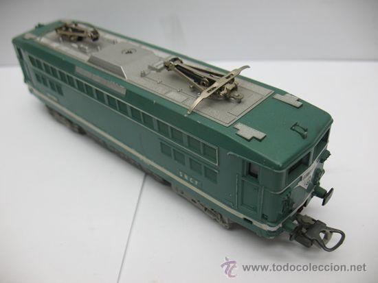 Trenes Escala: LIMA -LOCOMOTORA ELECTRICA BB 17009 - DE LA SNCF -Dc-Ho - Foto 12 - 39643983