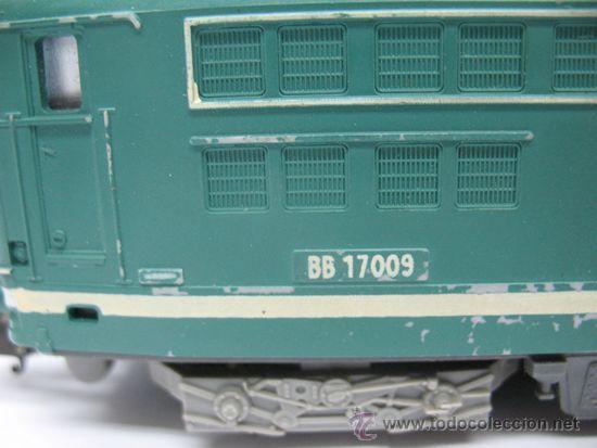 Trenes Escala: LIMA -LOCOMOTORA ELECTRICA BB 17009 - DE LA SNCF -Dc-Ho - Foto 16 - 39643983