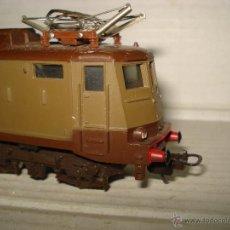 Trenes Escala: ANTIGUA LOCOMOTORA ELECTRICA EN ESCALA *H0* CORRIENTE CONTINUA DE LIMA AÑO 1980S. Lote 39928379