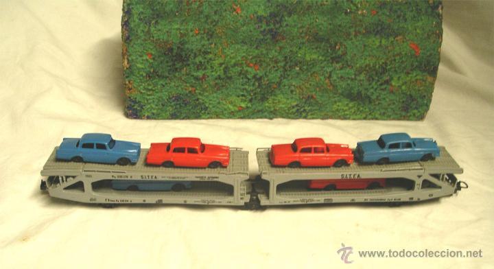 Trenes Escala: Lote Tren Lima Máquina SNCF 62001, 2 Vagones mercancías coches y contenedores y Túnel, escala H0 - Foto 6 - 45702312