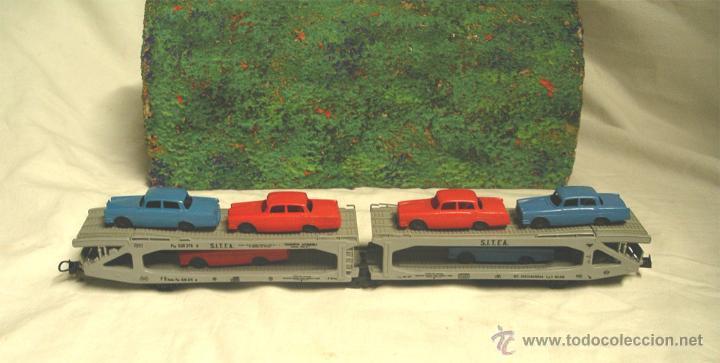 Trenes Escala: Lote Tren Lima Máquina SNCF 62001, 2 Vagones mercancías coches y contenedores y Túnel, escala H0 - Foto 7 - 45702312