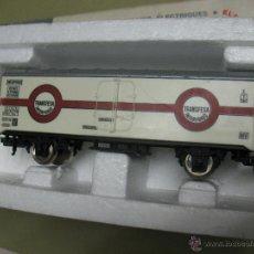 Trenes Escala: VAGON RENFE TRANSFESA LIMA BLANCO. Lote 47173229