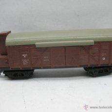 Trenes Escala: LIMA - VAGÓN DE MERCANCÍAS CERRADO CON GARITA DE LA SNCF - ESCALA H0. Lote 47423071