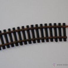 Trenes Escala: TRAMO CURVA CORTO LIMA H0 MADE IN ITALY. Lote 47634671