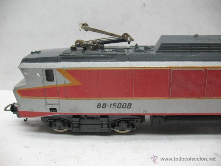 Trenes Escala: Lima - Locomotora eléctrica BB-15008 de la SNCF con corriente continua - Escala H0 - Foto 2 - 52284842