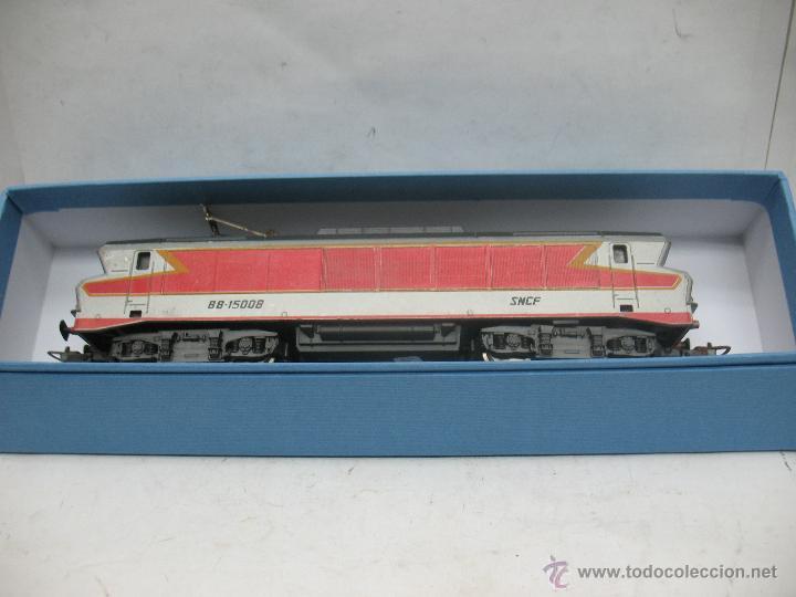 Trenes Escala: Lima - Locomotora eléctrica BB-15008 de la SNCF con corriente continua - Escala H0 - Foto 9 - 52284842