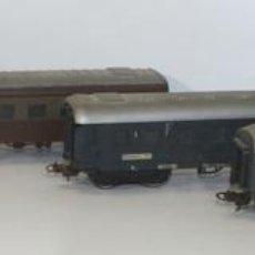 Trenes Escala: LOTE DE 4 VAGONES EN RESINA. LIMA. ESC H0. MADE IN ITALY. CIRCA 1970. . Lote 58020964